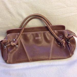 VINTAGE Matt & Nat light brown vegan leather purse